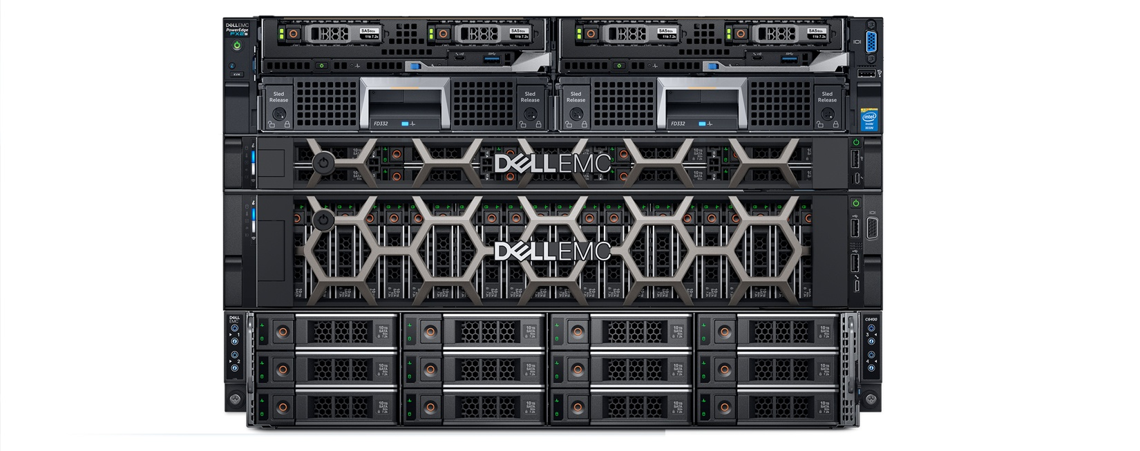 a close look at dell emc poweredge 14g servers