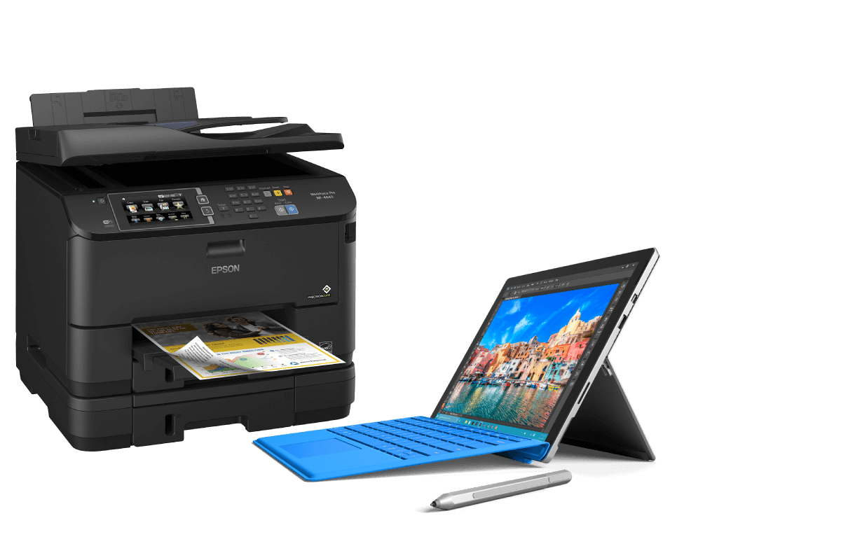 Epson Printer and Microsoft Surface