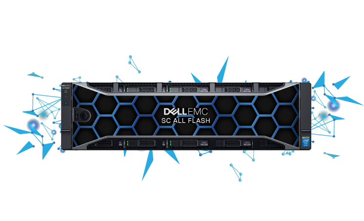 Dell SC All Flash storage